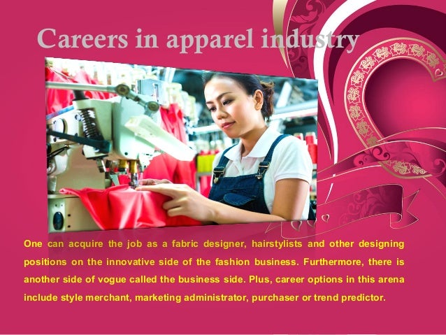 Business side of fashion industry 1