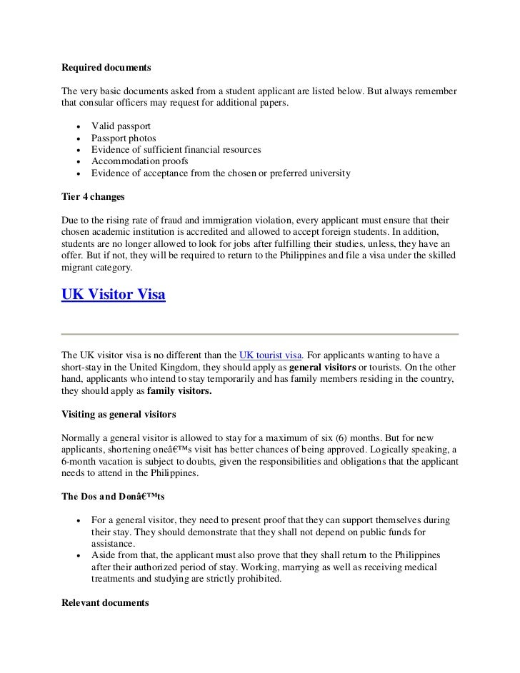 writing a letter of recommendation immigration zone