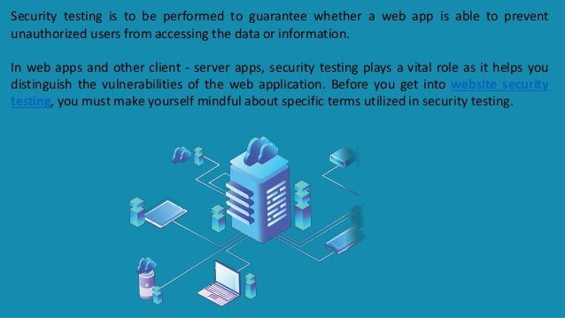 All you need to know about website security testing