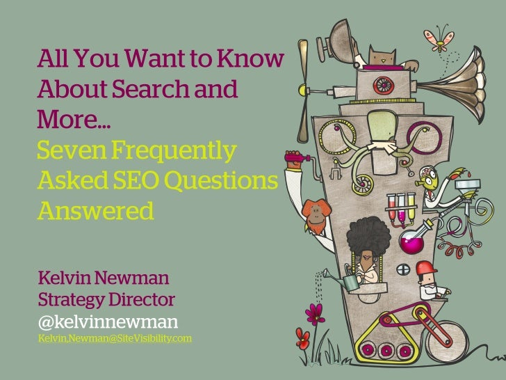 All You Want to Know About Search & More