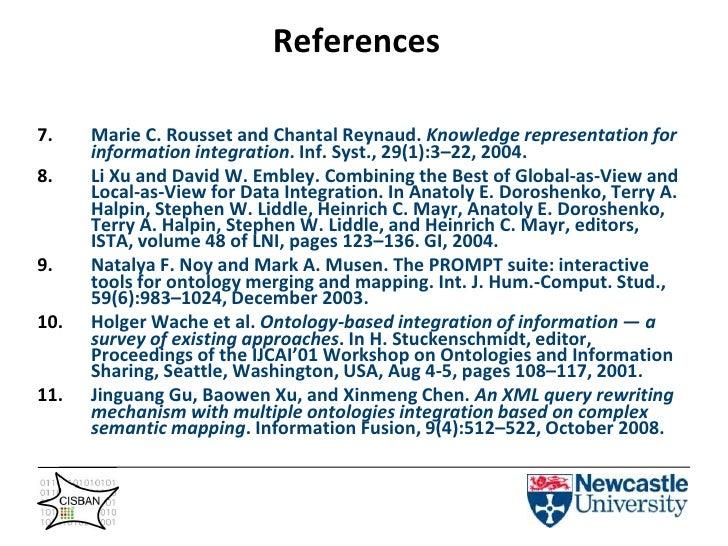 May not be in active development</li></li></ul><li>Syntactic Ontologies ->Telomere Ontology<br /><ul><li>Rules written in ...