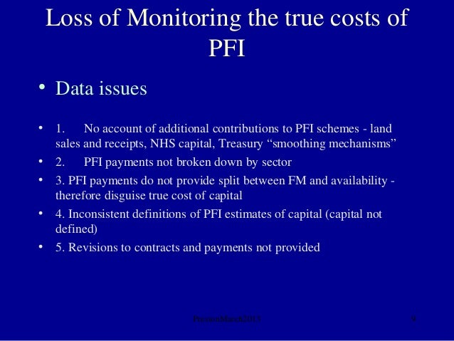 pfi contracts definition