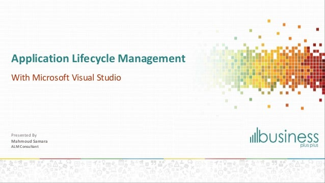 Application Lifecycle Management with Visual Studio 2013