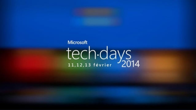 Code/developpement#mstechdays