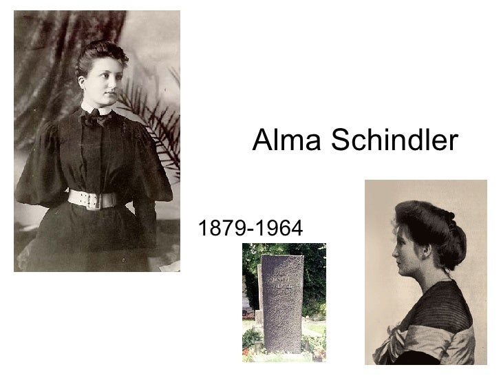 Alma Schindler 1879-1964