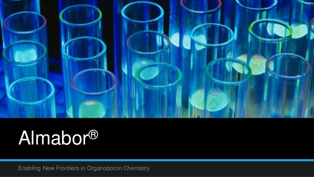 Almabor® Enabling New Frontiers in Organoboron Chemistry