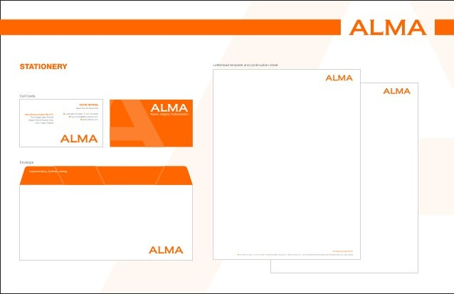 Alma brand guide stationery spiritdancerdesigns Choice Image