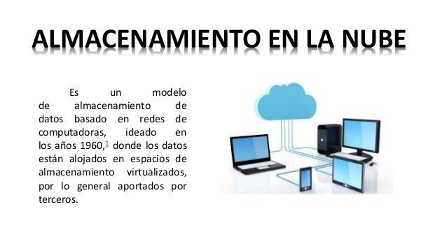 Almacenamiento En La Nube Y Software De Almacenamiento