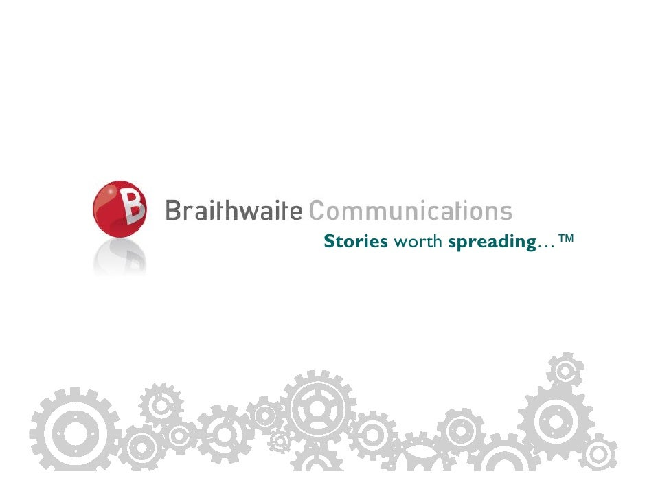 About Us                Stories worth spreading…™