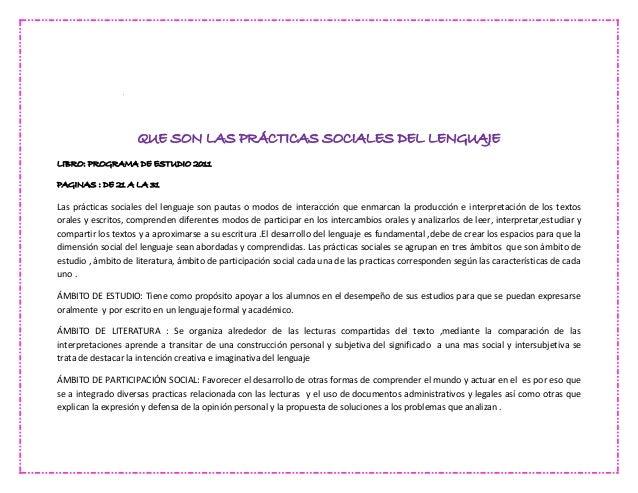 Practicas sociales for L practicas