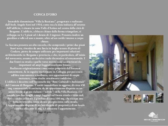 Brochure presentazione alma residence immobiliare - Piatto doccia triangolare ...