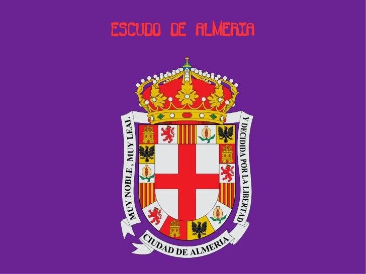 ESCUDO DE ALMERIA