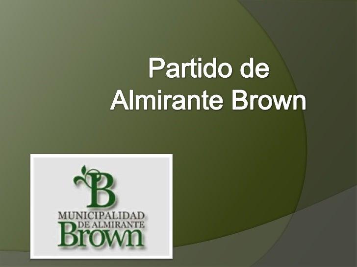 Partido de Almirante Brown<br />