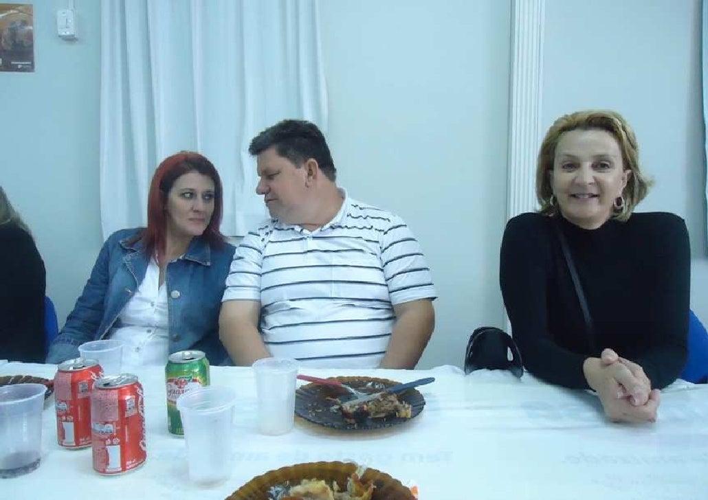 Almoço de aniversário da Igreja O Brasil Para Cristo