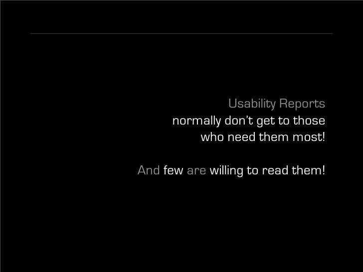 (Almost) Free Usability Testing