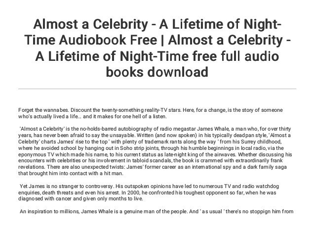Almost a Celebrity: A Lifetime of Night-Time