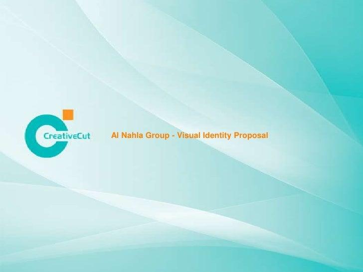 Al Nahla Group - Visual Identity Proposal