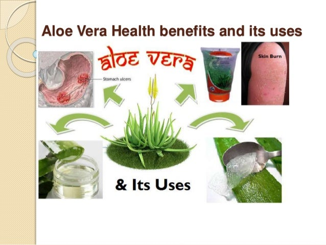 effects of aloe vera in the