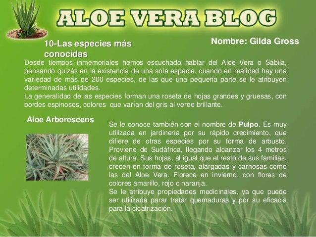 10-Las especies más                                  Nombre: Gilda Gross      conocidasDesde tiempos inmemoriales hemos es...