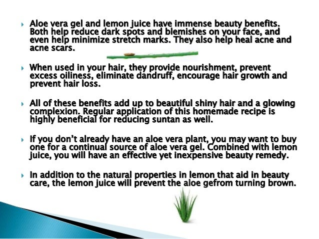 Aloe Vera Mask For Skin Hair
