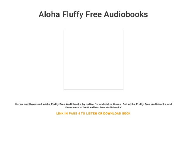 Aloha Fluffy Free Audiobooks