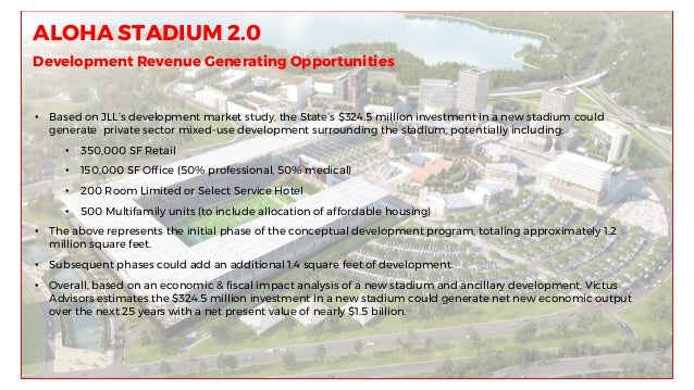 Aloha stadium Conceptual Redevelopment presentation April 5 2017 fina…