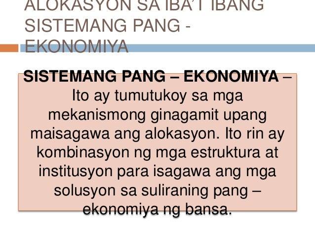 Bansa na gumamit ng sistemang pang ekonomiya upang