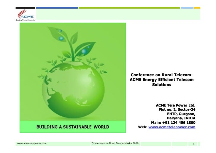 Conference on Rural Telecom-                                                                           Telecom-           ...