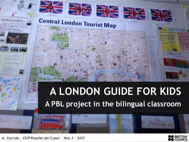 A LONDON GUIDE FOR KIDS                          A PBL project in the bilingual classroomA. Garrido – CEIP Rosales del Can...