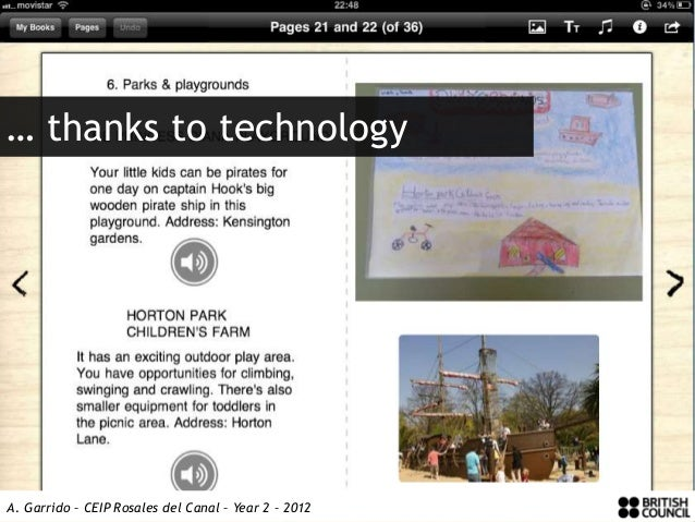 … thanks to technologyA. Garrido – CEIP Rosales del Canal – Year 2 – 2012