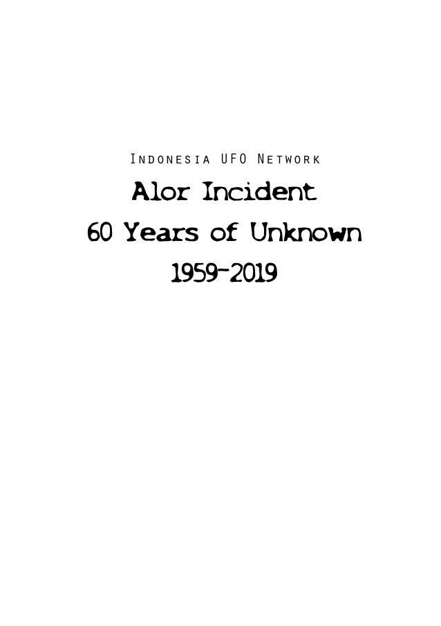 Alor incident Slide 2