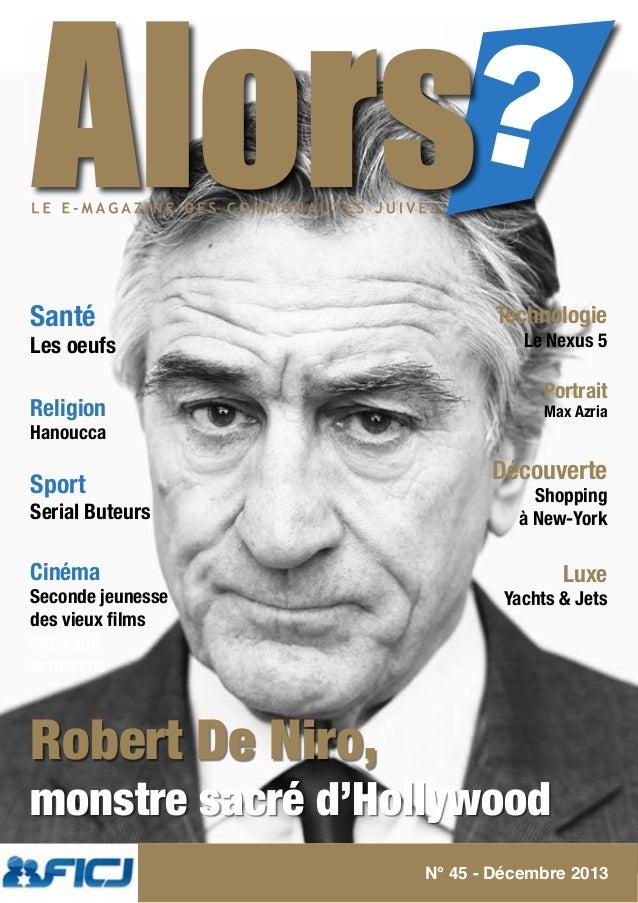 Santé  Les oeufs  Religion Hanoucca  Sport  Serial Buteurs  Technologie  Le Nexus 5  Portrait Max Azria  Découverte Shoppi...