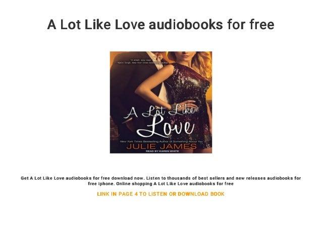A lot like love read online