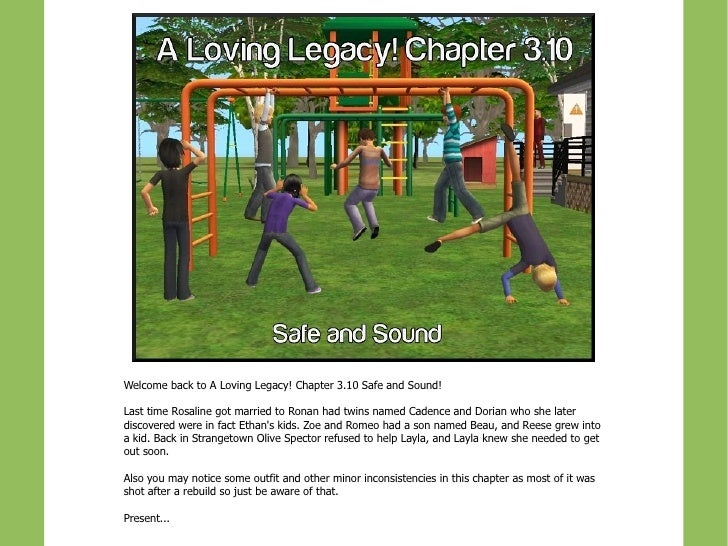 A loving legacy! chapter 3.10