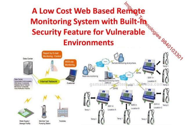 A low cost web based remote monitoring system with built in security a low cost web based remote monitoring system with built in security feature for vulnerable environments1 ccuart Images