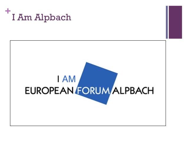 Alpbach Slide 2