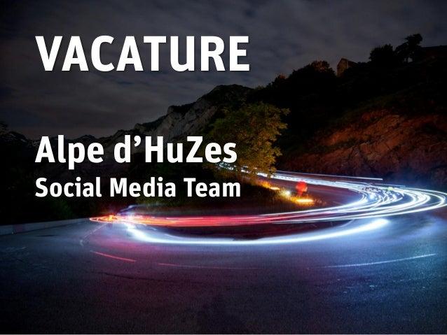 VACATUREAlpe d'HuZesSocial Media Team