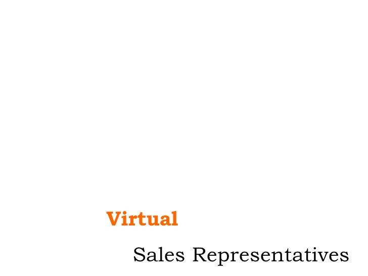 Virtual Sales Representatives