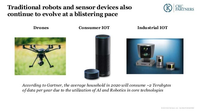 Drones Consumer IOT Industrial IOT Traditional robots and sensor devices also continue to evolve at a blistering pace Acco...
