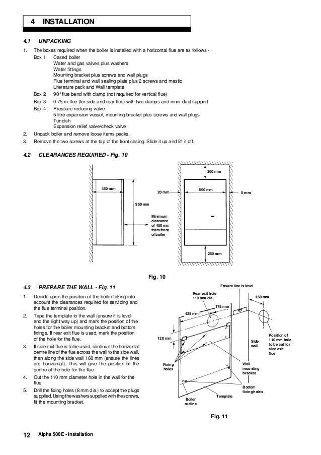 alpha 500e toexpansion relief valve 12