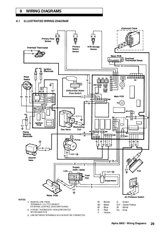 alpha boilers wiring diagrams