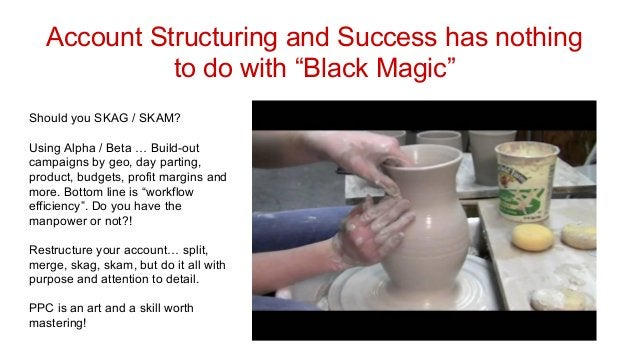 """Account Structuring and Success has nothing to do with """"Black Magic"""" Should you SKAG / SKAM? Using Alpha / Beta … Build-ou..."""