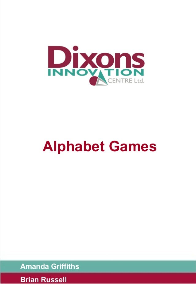Alphabet GamesAmanda GriffithsBrian Russell