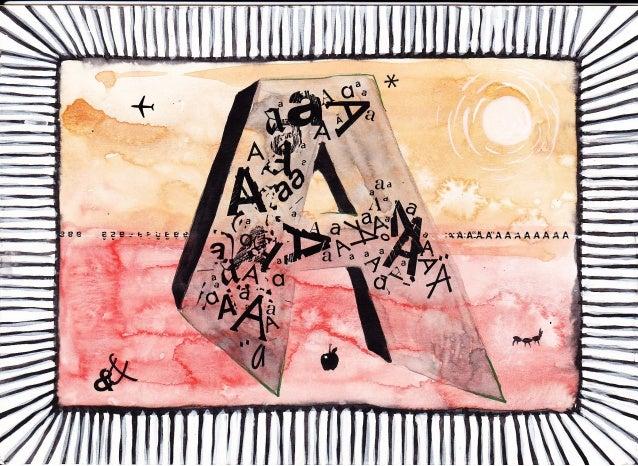 Alphabet illustrations