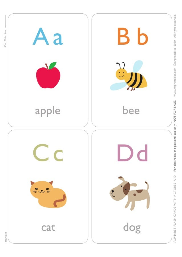 picture relating to Phonics Flashcards Printable named Alphabet phonics flashcards