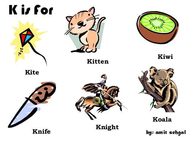 alphabet representation k