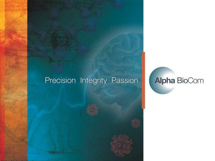 AlphaBioCom           is the scientific communication powerhouse              that delivers your most precious assets     ...