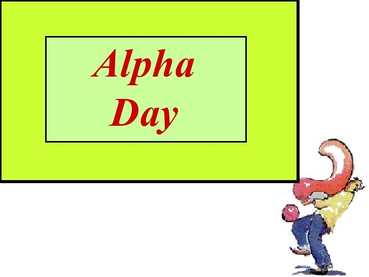 Alpha Day