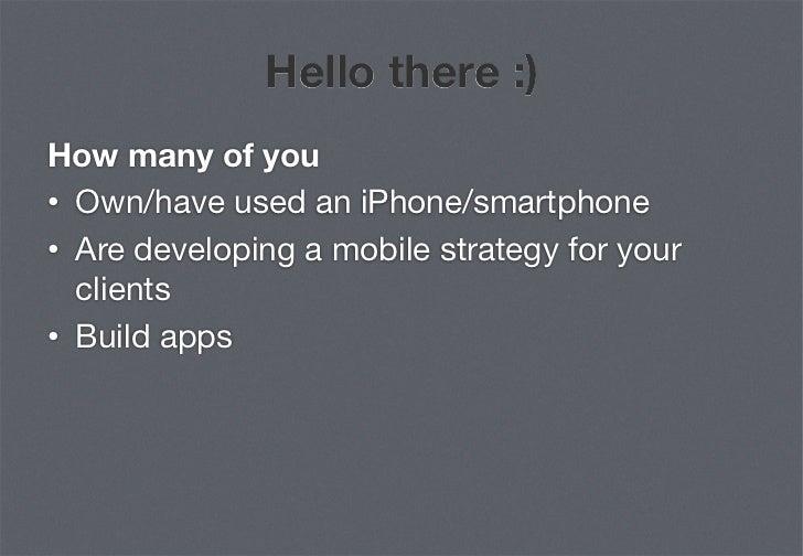 Anatomy of an iphone