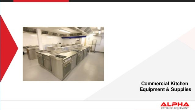 List of Commercial Kitchen Equipments